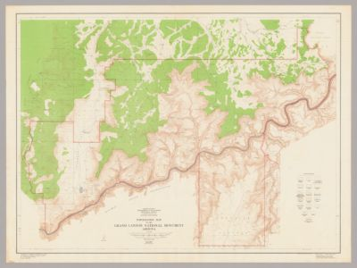 Preliminary Geologic Map Of The Grand Canyon And Vicinity
