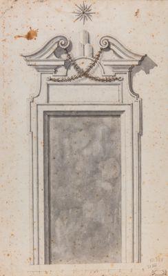 Palazzo Capranica. Portale