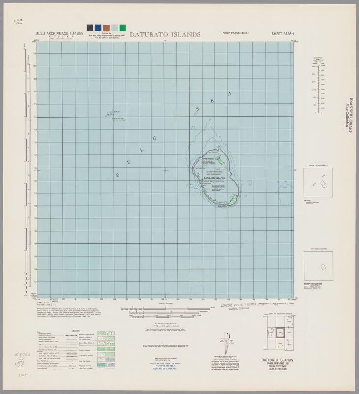 Sulu Archipelago 1:50,000