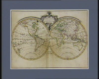Mappemonde ou description du globe terrestre [estampe]