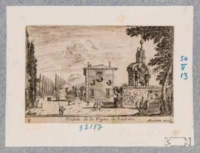 Villa Ludovisi, veduta parziale