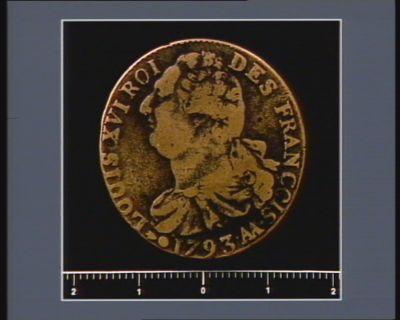 [<em>Monnaie</em> ou médaille de la Révolution française]
