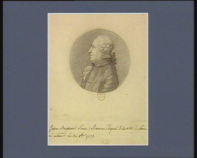 Jean Baptiste Pierre Beviere député de la ville de <em>Paris</em> né à <em>Paris</em> le 20 8.bre 1723 : [dessin]
