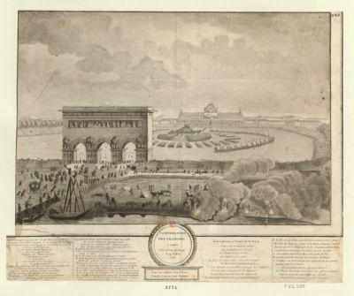 Confédération des François a Paris l'an 2.eme <em>de</em> la liberté le 14 juillet 1790 Tous les soldats sont freres tous les citoyens sont soldats : [estampe]