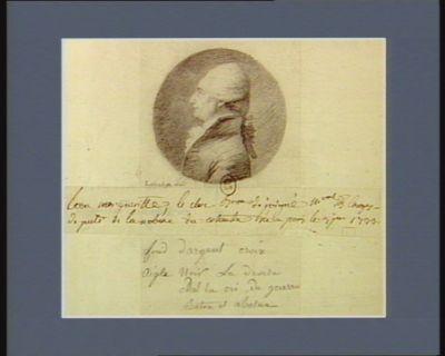 Leon Margueritte, Le Clerc, baron de Juigné [dessin]
