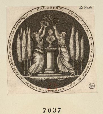 Dagobert Général François, mort à Puycerda le 29 Germinal, à conqui la Cerdagne Espagnole à la République : [estampe]