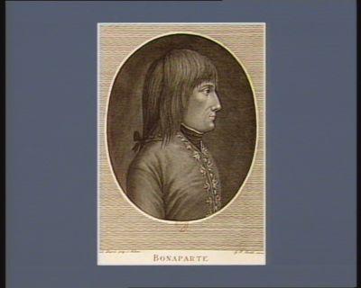 Bonaparte General en Chef der Italienischen Armee nach dem mailändischen Original : [estampe]