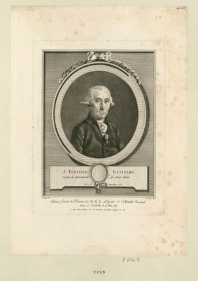 J. Baptiste Guittard député du département du Haut Rhin, né le 25 décembre 1737 : [estampe]