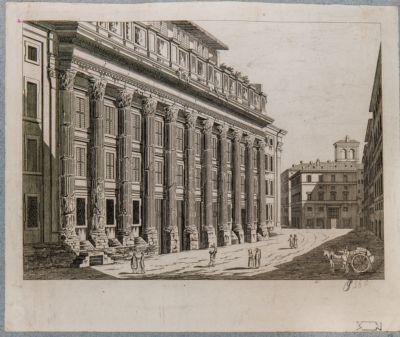 Neptunium con vista di Piazza di Pietra