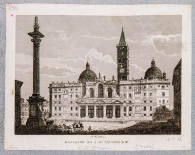 Chiesa di Santa Maria Maggiore, facciata moderna