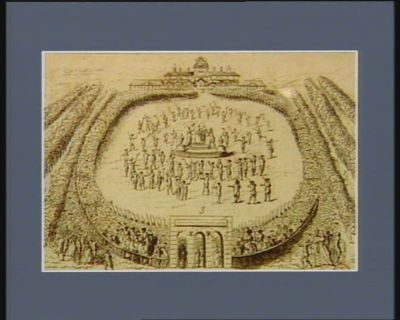 1 Autel de la patrie 2 galerie du Roi et des députés de l'Assemblée nationale 3 arche de triomphe... : [estampe]