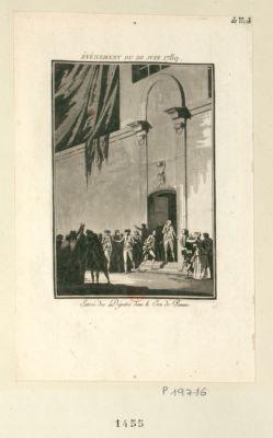Événement du <em>20</em> juin <em>1789</em> Entrée des députés dans le <em>Jeu</em> <em>de</em> <em>Paume</em> : [estampe]