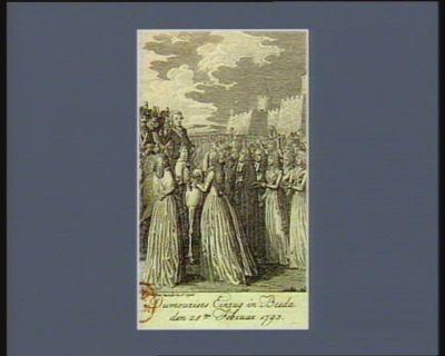 Dumouriers Einzug in Breda den 25.ten Februar 1793 [estampe]