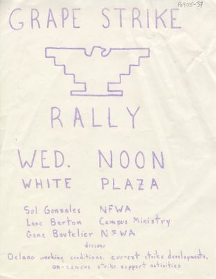 Grape Strike Rally