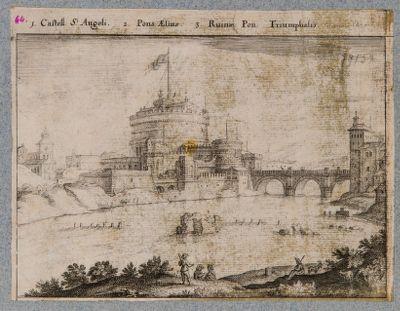 Castel S. Angeli. Pons Aelius. Ruinae Pon. Triumphalis