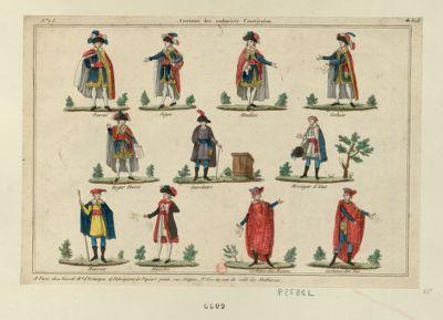 Costumes des authorités constituées [estampe]