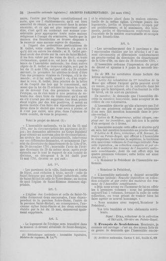 Tome 40 : Du 15 au 30 mars 1792 - page 38