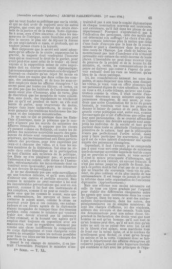 Tome 40 : Du 15 au 30 mars 1792 - page 65