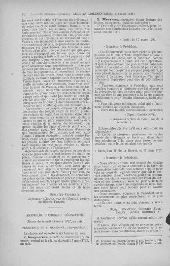 Tome 40 : Du 15 au 30 mars 1792 - page 82