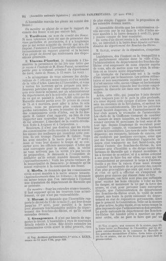 Tome 40 : Du 15 au 30 mars 1792 - page 84