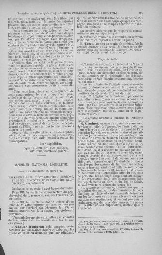 Tome 40 : Du 15 au 30 mars 1792 - page 95
