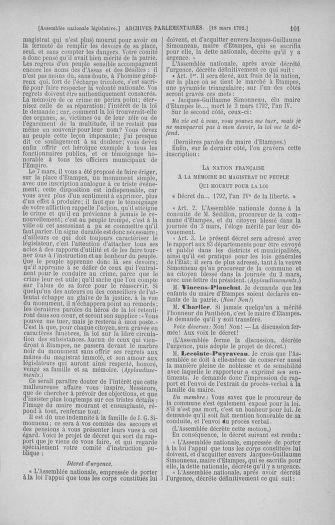 Tome 40 : Du 15 au 30 mars 1792 - page 101