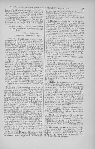Tome 40 : Du 15 au 30 mars 1792 - page 137