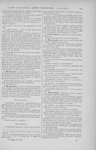 Tome 40 : Du 15 au 30 mars 1792 - page 161