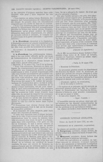 Tome 40 : Du 15 au 30 mars 1792 - page 180
