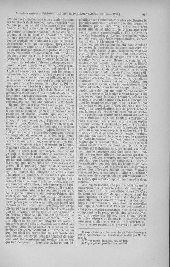 Tome 40 : Du 15 au 30 mars 1792 - page 213