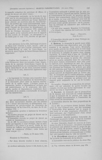 Tome 40 : Du 15 au 30 mars 1792 - page 439