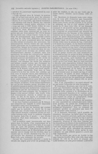Tome 40 : Du 15 au 30 mars 1792 - page 442
