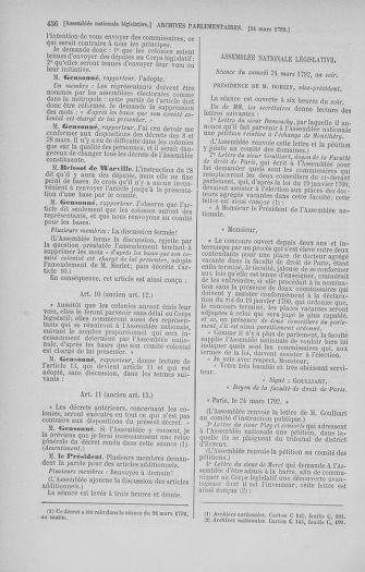Tome 40 : Du 15 au 30 mars 1792 - page 456
