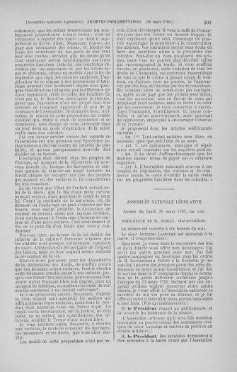 Tome 40 : Du 15 au 30 mars 1792 - page 505
