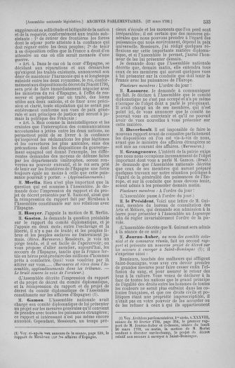 Tome 40 : Du 15 au 30 mars 1792 - page 533