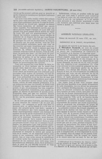 Tome 40 : Du 15 au 30 mars 1792 - page 598