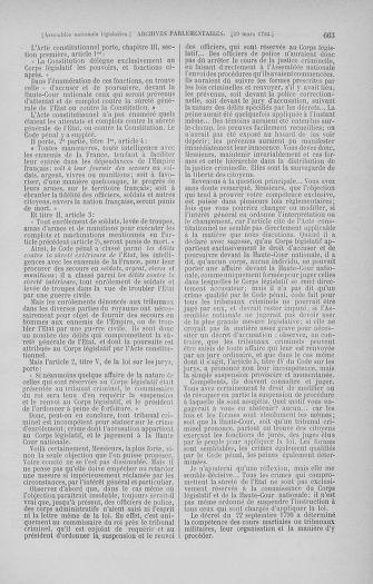 Tome 40 : Du 15 au 30 mars 1792 - page 663