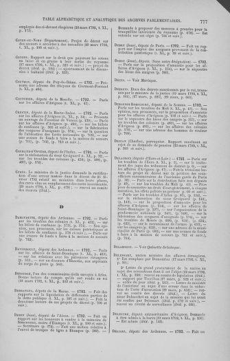 Tome 40 : Du 15 au 30 mars 1792 - page 777