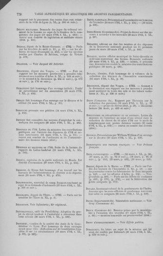 Tome 40 : Du 15 au 30 mars 1792 - page 778