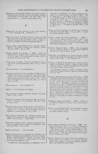 Tome 40 : Du 15 au 30 mars 1792 - page 781
