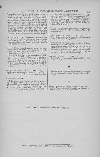 Tome 40 : Du 15 au 30 mars 1792 - page 799
