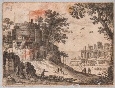 Palatino, resti della Domus Severiana ove era il Settizonio