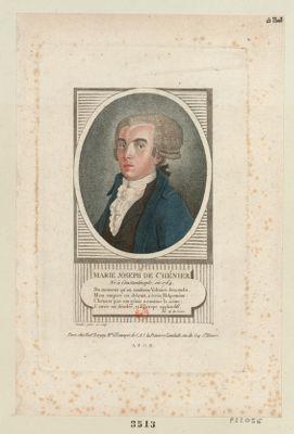 Marie Joseph de Chénier né à Constantinople, en 1764... : [estampe]