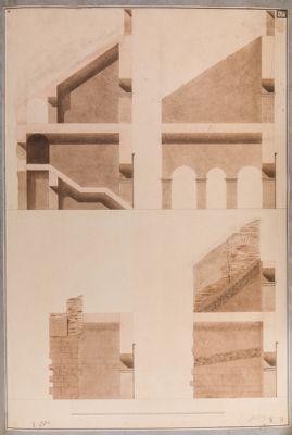 Colosseo, sezioni n.4 di parti