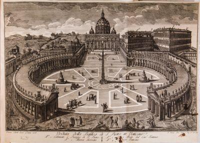 Veduta della Basilica di S. Pietro in Vaticano