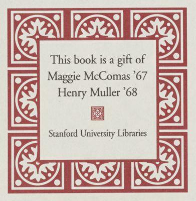 Henry Muller Book Fund