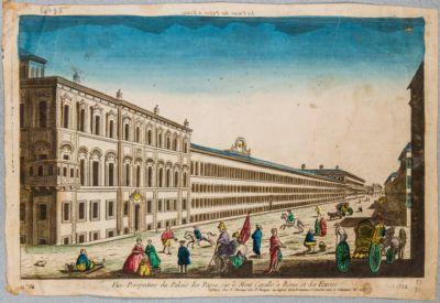 """Palazzo del Quirinale, fianco detto """"la manica lunga"""""""