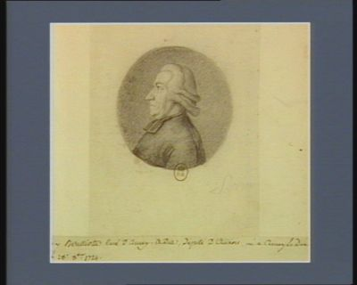 Guy Boulliotte curé d'Arnay-le Duc député d'Auxois né à Arnay le Duc le 28 8.bre 1724 : [dessin]