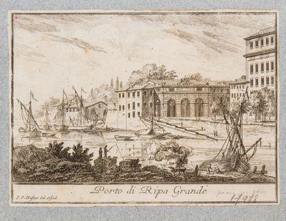 Porto di Ripa Grande, dogana