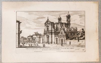 Chiesa di S. Giacomo degli Incurabili, esterno